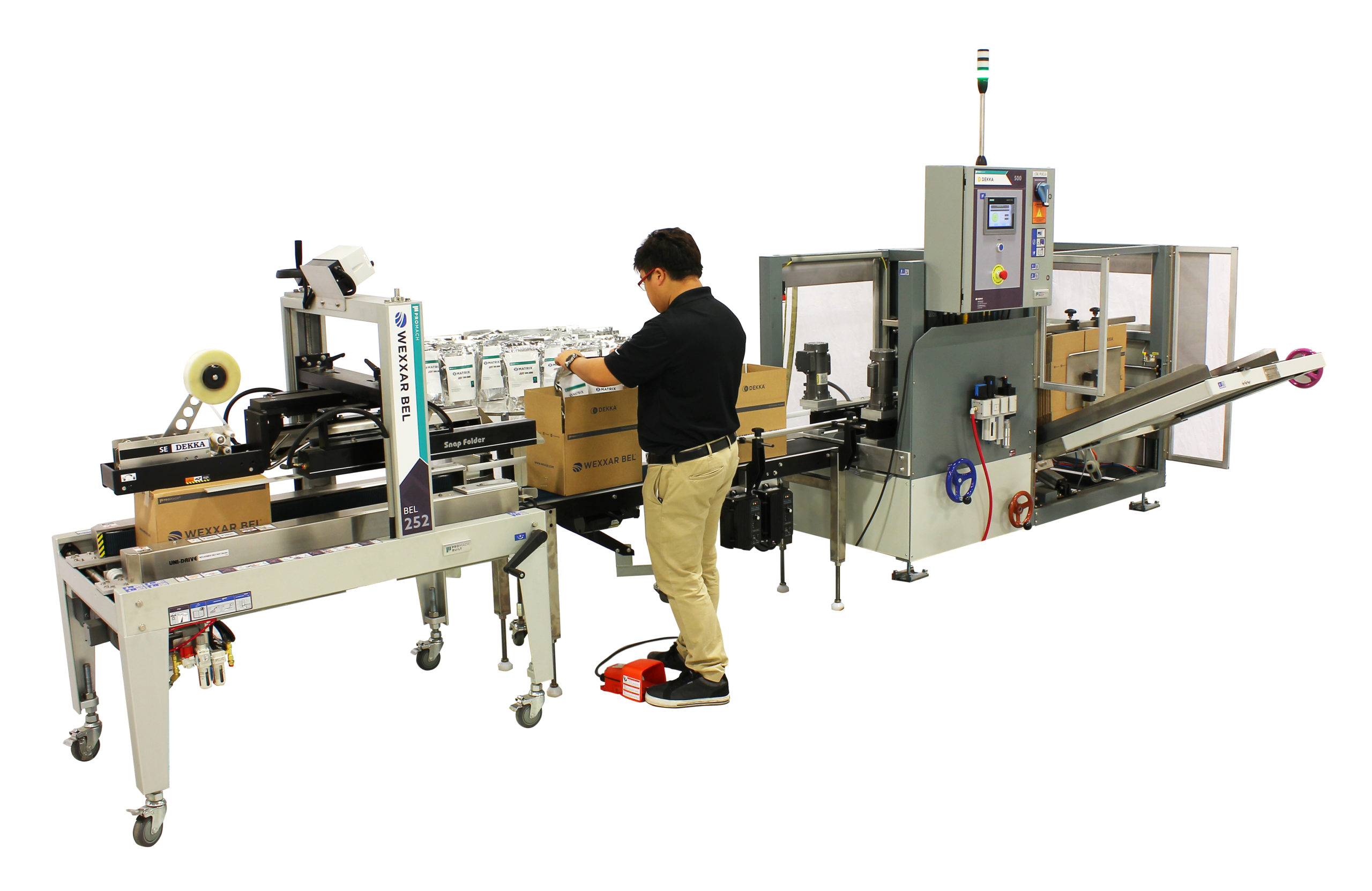 Wexxar Bel Modular Solutions for Packaging Systems